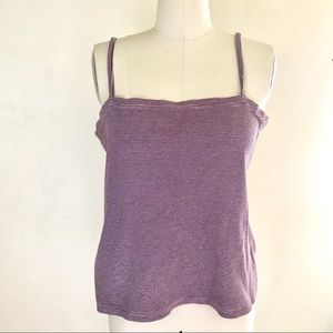 90's Old Navy Striped Ribbed Tank Top Size Large